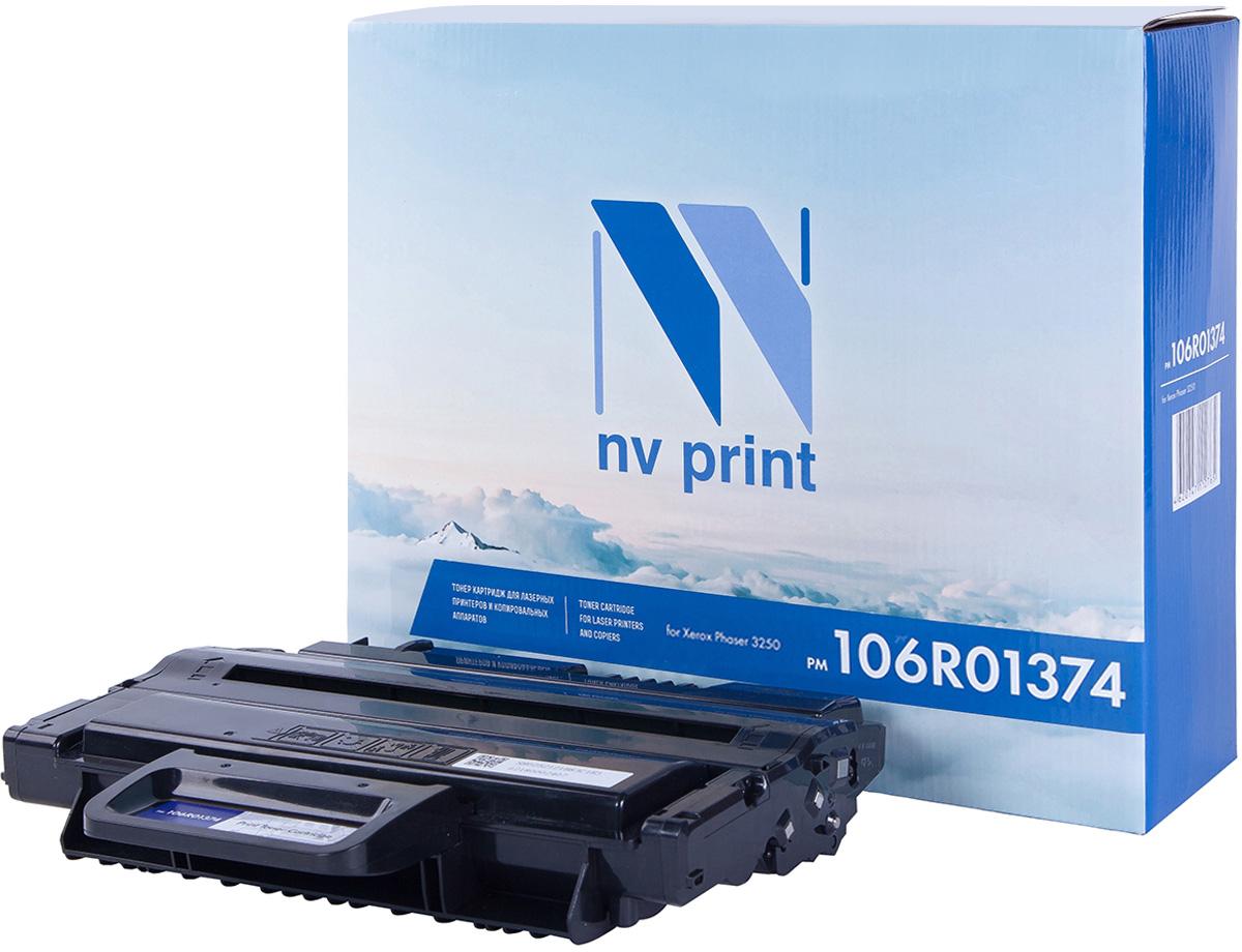 NV Print NV-106R01374, Black тонер-картридж для Xerox Phaser 3250 картридж для принтера nv print для hp cf403x magenta