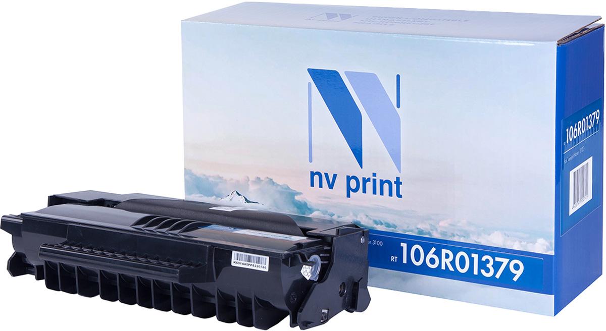NV Print NV-106R01379, Black тонер-картридж для Xerox Phaser 3100MFPNV-106R01379Совместимый лазерный картридж NV Print NV-106R01379 для печатающих устройств Xerox - это альтернатива приобретению оригинальных расходных материалов. При этом качество печати остается высоким. Картридж обеспечивает повышенную чёткость чёрного текста и плавность переходов оттенков серого цвета и полутонов, позволяет отображать мельчайшие детали изображения.Лазерные принтеры, копировальные аппараты и МФУ являются более выгодными в печати, чем струйные устройства, так как лазерных картриджей хватает на значительно большее количество отпечатков, чем обычных. Для печати в данном случае используются не чернила, а тонер.