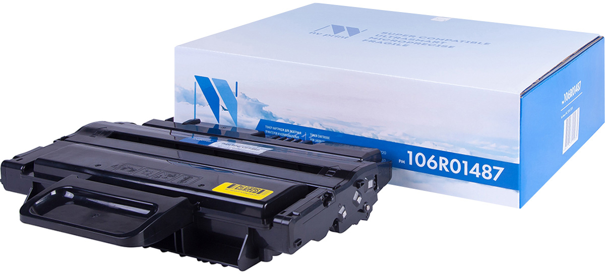 NV Print NV-106R01487, Black тонер-картридж для Xerox WC 3210/3220 картридж nv print совместимый с xerox 106r01487 для wc 3210 3220 4100k