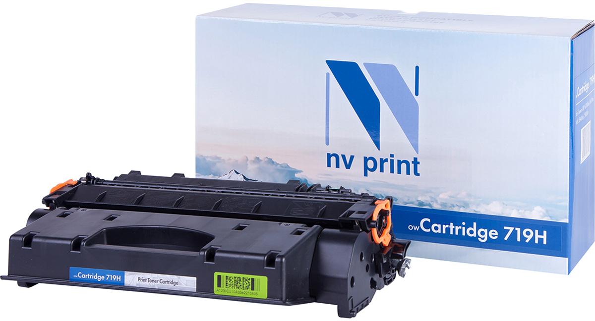 NV Print NV-719H, Black тонер-картридж для Canon i-Sensys LBP6300/LBP6650/MF5840/MF5880NV-719HСовместимый лазерный картридж NV Print NV-719H для печатающих устройств Canon - это альтернатива приобретению оригинальных расходных материалов. При этом качество печати остается высоким. Картридж обеспечивает повышенную чёткость чёрного текста и плавность переходов оттенков серого цвета и полутонов, позволяет отображать мельчайшие детали изображения.Лазерные принтеры, копировальные аппараты и МФУ являются более выгодными в печати, чем струйные устройства, так как лазерных картриджей хватает на значительно большее количество отпечатков, чем обычных. Для печати в данном случае используются не чернила, а тонер.