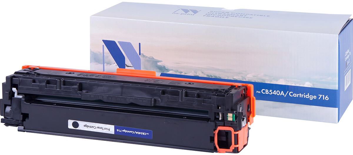 NV Print NV-CB540A/Canon716Bk, Black тонер-картридж для HP Color LaserJet CM1312MFP/CP1215/CP1515/CP1518/Canon i-SENSYS LBP 5050/MF8030CN/8050CN/HP Color LaserJet CM1312MFP/CP1215/CP1515/CP1518 картридж для принтера nv print hp q5949x q7553x black