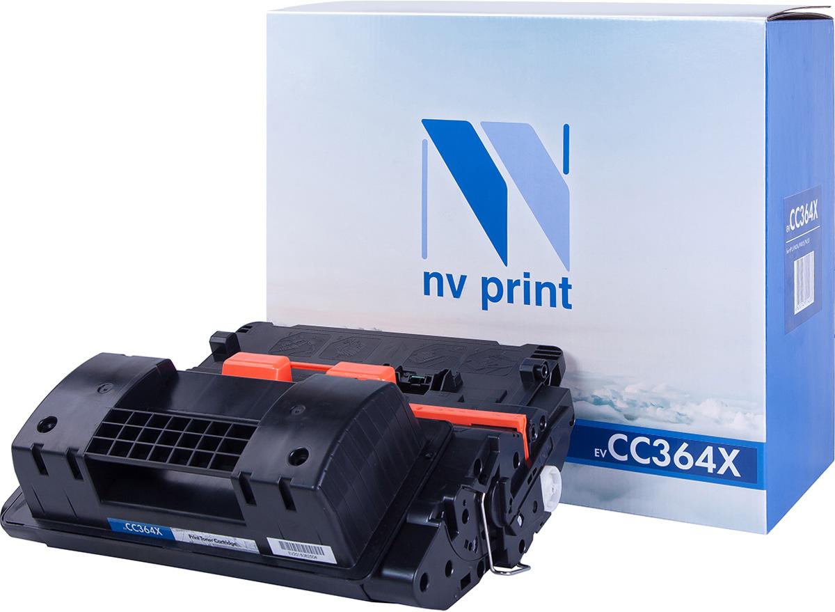 NV Print NV-CC364X, Black тонер-картридж для HP LaserJet P4015/P4515NV-CC364XСовместимый лазерный картридж NV Print NV-CC364X для печатающих устройств HP - это альтернатива приобретению оригинальных расходных материалов. При этом качество печати остается высоким. Картридж обеспечивает повышенную чёткость чёрного текста и плавность переходов оттенков серого цвета и полутонов, позволяет отображать мельчайшие детали изображения.Лазерные принтеры, копировальные аппараты и МФУ являются более выгодными в печати, чем струйные устройства, так как лазерных картриджей хватает на значительно большее количество отпечатков, чем обычных. Для печати в данном случае используются не чернила, а тонер.