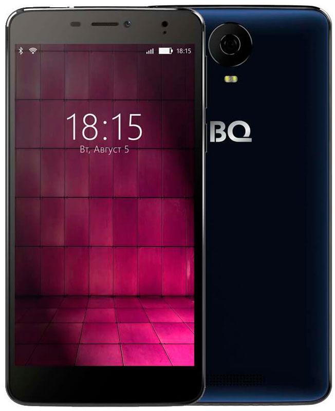 BQ 6050 Jumbo LTE, Dark Blue46612697Большой и мощный - таким BQ Mobile задумали смартфон BQ-6050 Jumbo, современный мультимедийный центр, помещающийся в кармане. Этот фаблет работает под управлением надежной операционной системы Android 6.0. Будь готов: он создан для тех, кто привык получать все и сразу!Перед тобой 6-дюймовый IPS-экран с отличной цветопередачей и HD-разрешением 1280х720. Но для максималистов этого недостаточно. Поэтому дисплей смартфона выполнен по технологии Full lamination,а значит, лишен воздушной прослойки между ЖК-панелью и защитным стеклом, что максимально приближает изображение к поверхности устройства. Нажми на кнопку - получишь результат! И не просто фотографию, а снимок отличного качества. Все благодаря основной камере с разрешением 16-мегапикселей, оснащенной автофокусом и вспышкой. Для селфи и видеозвонков воспользуйся фронтальной 8-мегапиксельной оптикой.Двухчасовой фильм, видеоконференция или любимая игра? Решай любые задачи, забыв о зарядке, ведь под крышкой Jumbo Li-polymer аккумулятор энергоемкостью 4900 мАч. С такой батареей можно смело отправляться в путешествие прямо сейчас. Ноутбук можно оставить дома, клавиатуру и флешку подключаешь прямо к смартфону, он поддерживает современную технологию OTG, с помощью которой можно синхронизировать девайс практически с любым устройством.С Jumbo ты всегда остаешься на гребне волны, благодаря поддержке смартфоном 4G-сетей, 2 ГБ оперативной памяти и четырехъядерному процессору MediaTek MT6737. Встроенные 16 ГБ памяти легко увеличить до 128, если воспользоваться microSD картой.Смартфон сертифицирован EAC и имеет русифицированный интерфейс меню и Руководство пользователя.