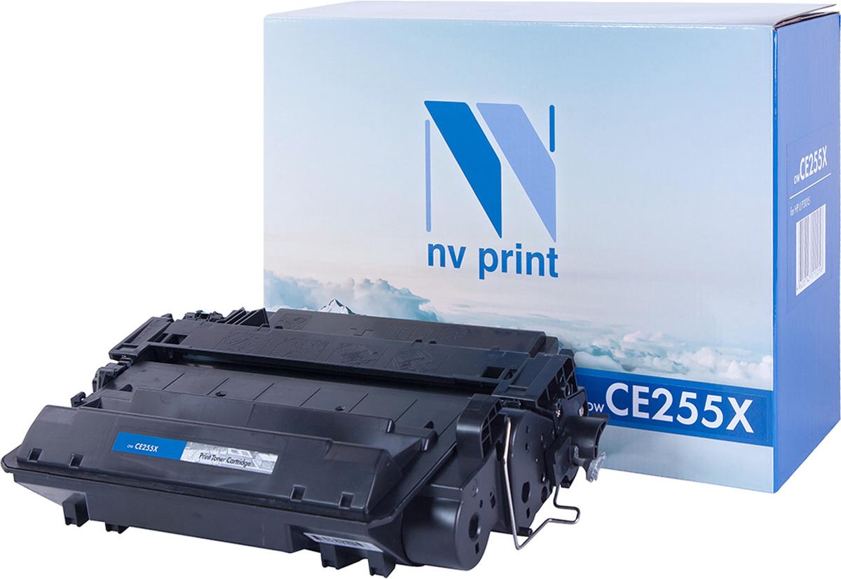 NV Print NV-CE255X, Black тонер-картридж для HP LaserJet Р3015/M525 мфу hp laserjet 3015