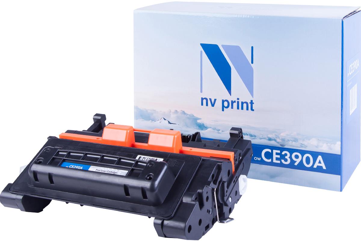 NV Print NV-CE390A, Black тонер-картридж для HP LaserJet M4555MFP/600/M601N/M601DN/602N/602DN/602X/603N/603DN/603XH картридж nv print cf283x crg737 для hp laserjet pro 201dw n mfp m225dn dw mf212w canon i sensys mf418x