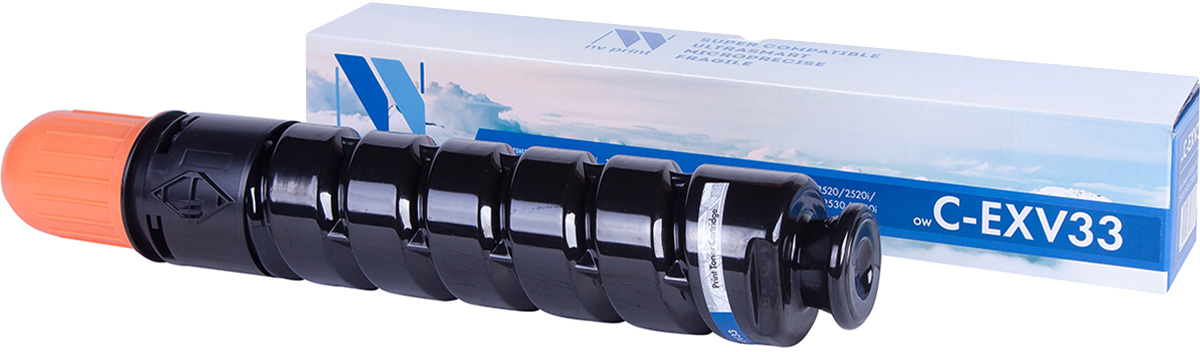 NV Print NV-CEXV33, Black тонер-туба для Canon iR2520/2525/2530 картридж для принтера nv print canon ep 22 black