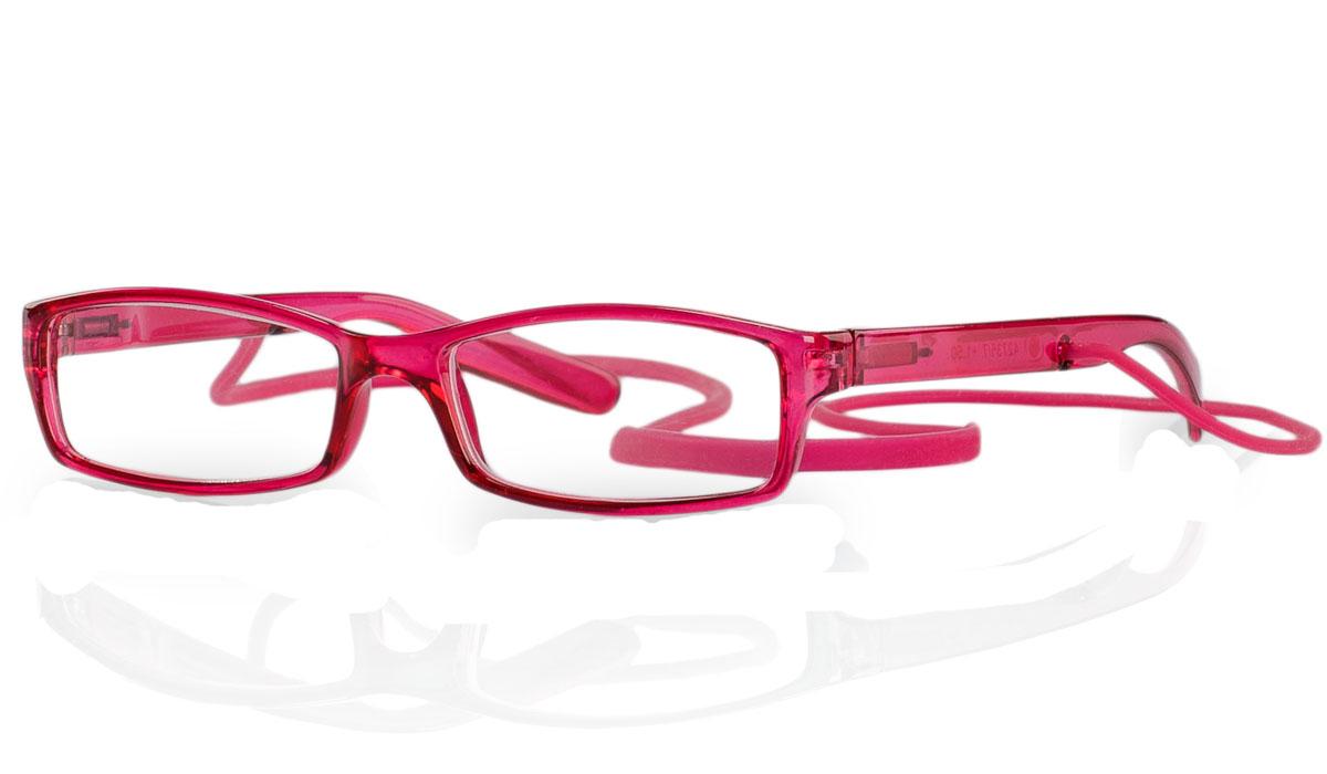 Kemner Optics Очки для чтения +1,5, цвет: красный42735/7Готовые очки для чтения - это очки с плюсовыми диоптриями, предназначенные для комфортного чтения для людей с пониженной эластичностью хрусталика. Компания Kemner Optics уже больше 20 лет поставляет готовую оптику на европейский рынок. Надежность и качество очков Kemner Optics проверено годами.