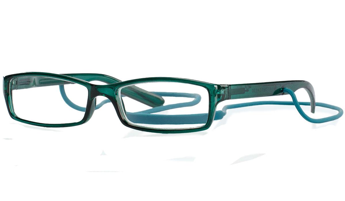 Kemner Optics Очки для чтения +1,5, цвет: зеленый42735/12Готовые очки для чтения - это очки с плюсовыми диоптриями, предназначенные для комфортного чтения для людей с пониженной эластичностью хрусталика. Компания Kemner Optics уже больше 20 лет поставляет готовую оптику на европейский рынок. Надежность и качество очков Kemner Optics проверено годами.