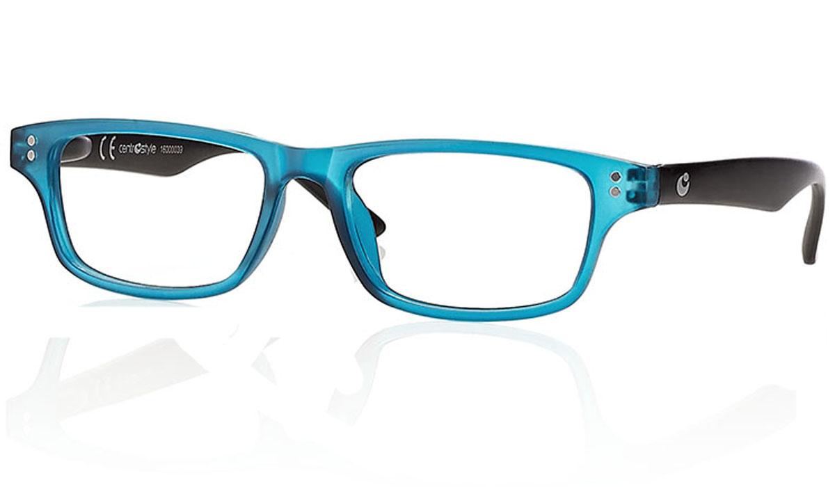 CentroStyle Очки для чтения +1.00, цвет: синий60740Готовые очки для чтения - это очки с плюсовыми диоптриями, предназначенные для комфортного чтения для людей с пониженной эластичностью хрусталика. Очки итальянской марки Centrostyle - это модные и незаменимые в повседневной жизни аксессуары. Более чем двадцати летний опыт дизайнеров компании CentroStyle гарантирует комфорт и качество.
