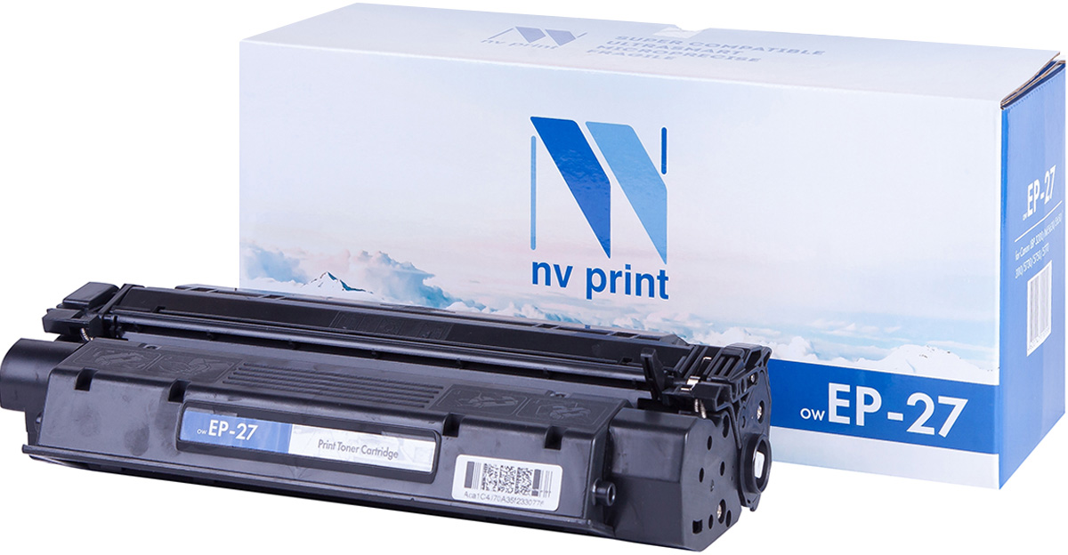 NV Print NV-EP27, Black тонер-картридж для Canon i-Sensys LBP 3200/MF5630/5650/3110/5730/5750/5770 high quality black laser toner powder for canon epw ep 72 ep 72 lbp 930 lbp 2460 lbp 950 lbp950 1kg bag printer