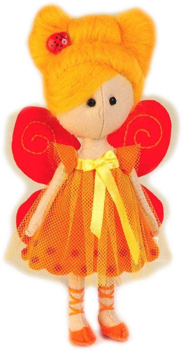 Набор для изготовления игрушки Перловка Фея-Бабочка кукла своими руками фея