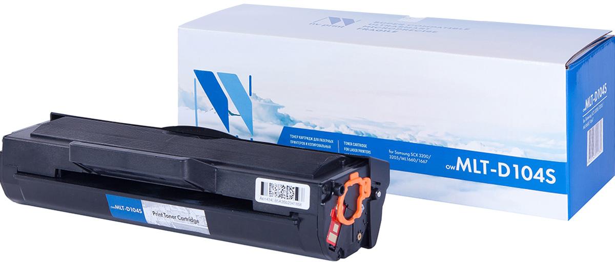 NV Print NV-MLTD104S, Black тонер-картридж для Samsung ML-1660/ML-1661/ML-1665/ML-1667/SCX-3200/SCX-3205/SCX-3217NV-MLTD104SСовместимый лазерный картридж NV Print NV-MLTD104S для печатающих устройств Samsung - это альтернатива приобретению оригинальных расходных материалов. При этом качество печати остается высоким. Картридж обеспечивает повышенную чёткость чёрного текста и плавность переходов оттенков серого цвета и полутонов, позволяет отображать мельчайшие детали изображения.Лазерные принтеры, копировальные аппараты и МФУ являются более выгодными в печати, чем струйные устройства, так как лазерных картриджей хватает на значительно большее количество отпечатков, чем обычных. Для печати в данном случае используются не чернила, а тонер.