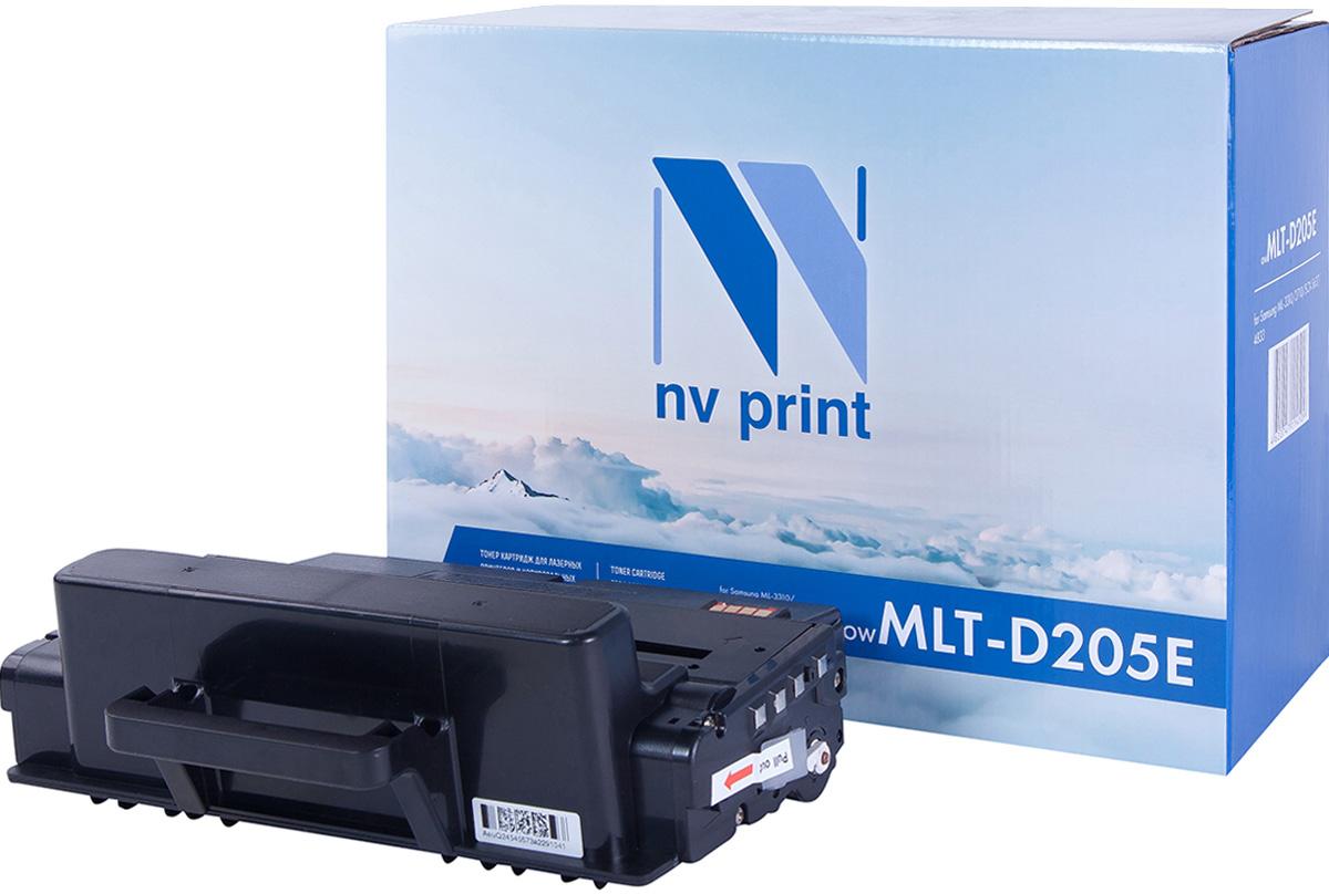 NV Print NV-MLTD205E, Black тонер-картридж для Samsung ML-3310/ML-3710/SCX-4833/SCX-5637NV-MLTD205EСовместимый лазерный картридж NV Print NV-MLTD205E для печатающих устройств Samsung - это альтернатива приобретению оригинальных расходных материалов. При этом качество печати остается высоким. Картридж обеспечивает повышенную чёткость чёрного текста и плавность переходов оттенков серого цвета и полутонов, позволяет отображать мельчайшие детали изображения.Лазерные принтеры, копировальные аппараты и МФУ являются более выгодными в печати, чем струйные устройства, так как лазерных картриджей хватает на значительно большее количество отпечатков, чем обычных. Для печати в данном случае используются не чернила, а тонер.