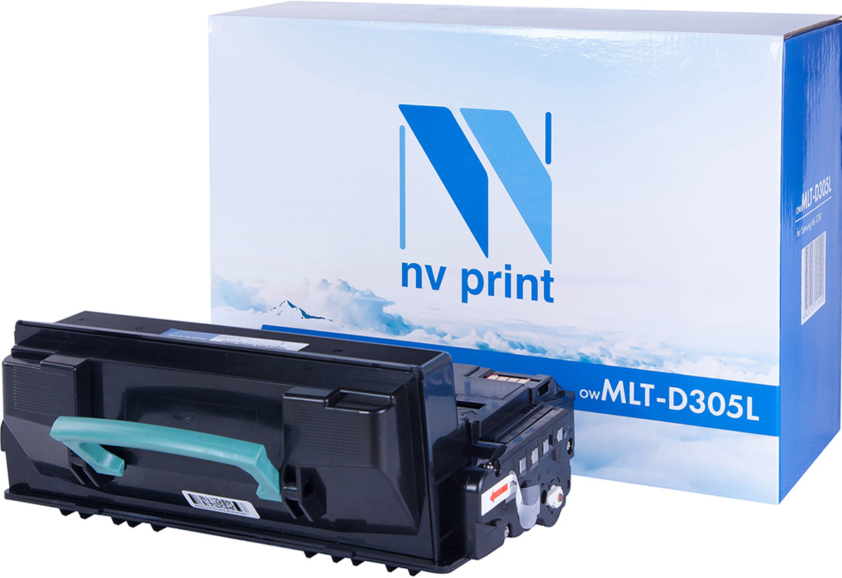 NV Print NV-MLTD305L, Black тонер-картридж для Samsung ML-3750ND картридж colortek black для ml 3750