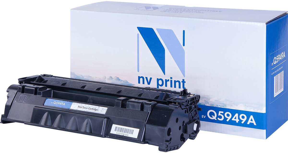 NV Print NV-Q5949A, Black тонер-картридж для HP LaserJet 1160/1320/3390/3392 used for toshiba 1640 printer cartridge toner reset chip