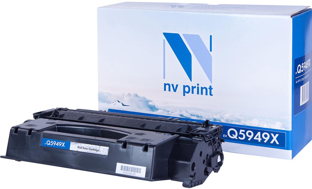 NV Print NV-Q5949X, Black тонер-картридж для HP LaserJet 1320/3390/3392 картридж для принтера hi black hp q5949x q7553x black