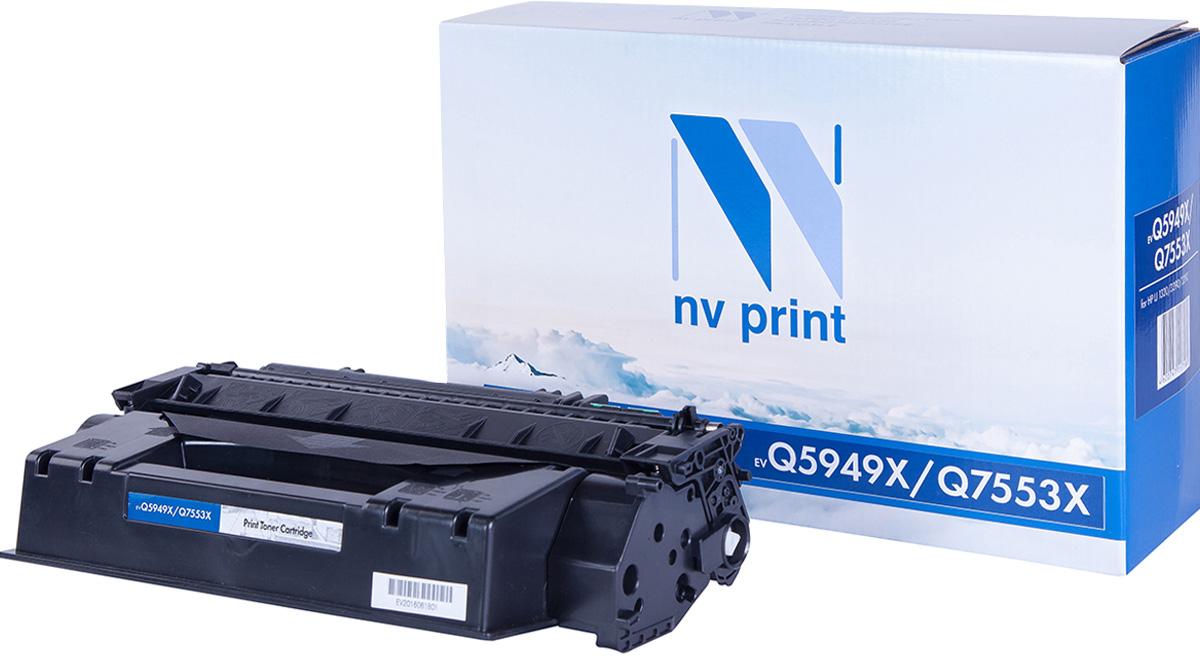 NV Print NV-Q5949X/Q7553X, Black тонер-картридж для HP LaserJet 1320/3390/3392/P2014/P2015/P2015N/P2015D/P2015DN/P2015X/M2727MFP