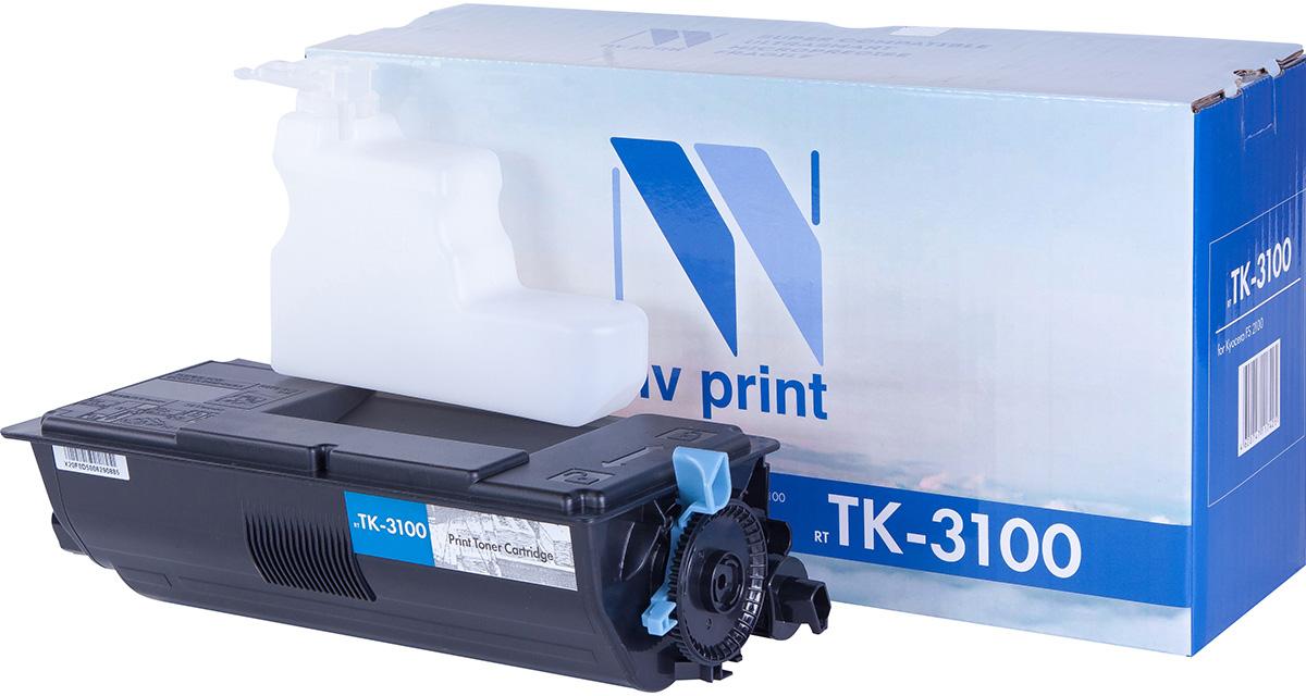 NV Print NV-TK3100, Black тонер-картридж для Kyocera FS-2100D/2100DN/M3040dn/M3540dn лазерный картридж kyocera tk 710 для fs 9130dn 9530dn черный