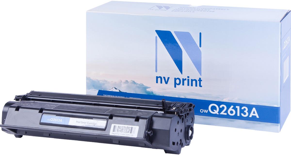 NV Print Q2613A, Black тонер-картридж для HP LaserJet 1300 sakura c7115a q2613a 2624a black тонер картридж для hp laserjet 1000 1200 3300 1300 1150
