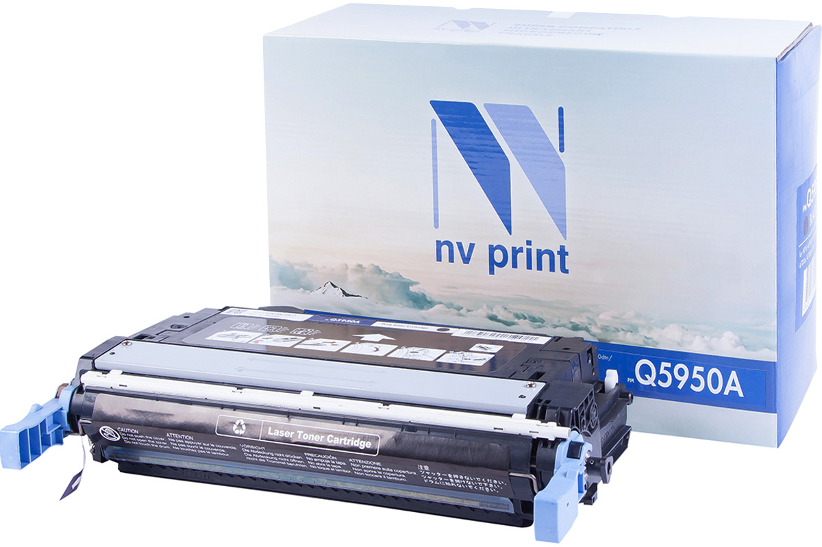 NV Print Q5950A, Black тонер-картридж для HP Color LaserJet 4700/4700N/4700DN/4700DTN картридж для принтера nv print для hp cf403x magenta