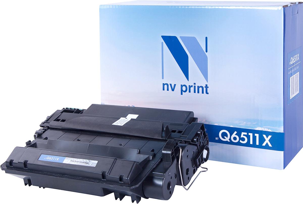 NV Print Q6511X, Black тонер-картридж для HP LaserJet 2410/2420/2430NV-Q6511XСовместимый лазерный картридж NV Print Q6511X для печатающих устройств HP - это альтернатива приобретению оригинальных расходных материалов. При этом качество печати остается высоким. Картридж обеспечивает повышенную чёткость чёрного текста и плавность переходов оттенков серого цвета и полутонов, позволяет отображать мельчайшие детали изображения.Лазерные принтеры, копировальные аппараты и МФУ являются более выгодными в печати, чем струйные устройства, так как лазерных картриджей хватает на значительно большее количество отпечатков, чем обычных. Для печати в данном случае используются не чернила, а тонер.
