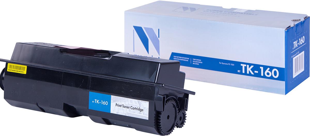 NV Print TK-160, Black тонер-картридж для Kyocera FS-1120D/1120/1120DNTK-160Совместимый лазерный картридж NV Print для печатающих устройств Kyocera - это альтернатива приобретению оригинальных расходных материалов. При этом качество печати остается высоким. Картридж обеспечивает повышенную чёткость чёрного текста и плавность переходов оттенков серого цвета и полутонов, позволяет отображать мельчайшие детали изображения.Лазерные принтеры, копировальные аппараты и МФУ являются более выгодными в печати, чем струйные устройства, так как лазерных картриджей хватает на значительно большее количество отпечатков, чем обычных. Для печати в данном случае используются не чернила, а тонер.