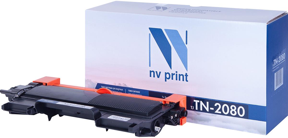 NV Print NV-TN2080T, Black тонер-картридж для Brother HL-2130R/DCP-7055RNV-TN2080Совместимый лазерный картридж NV Print TN2080 для печатающих устройств Brother - это альтернатива приобретению оригинальных расходных материалов. При этом качество печати остается высоким. Картридж обеспечивает повышенную чёткость и плавность переходов оттенков цвета и полутонов, позволяет отображать мельчайшие детали изображения.Лазерные принтеры, копировальные аппараты и МФУ являются более выгодными в печати, чем струйные устройства, так как лазерных картриджей хватает на значительно большее количество отпечатков, чем обычных. Для печати в данном случае используются не чернила, а тонер.