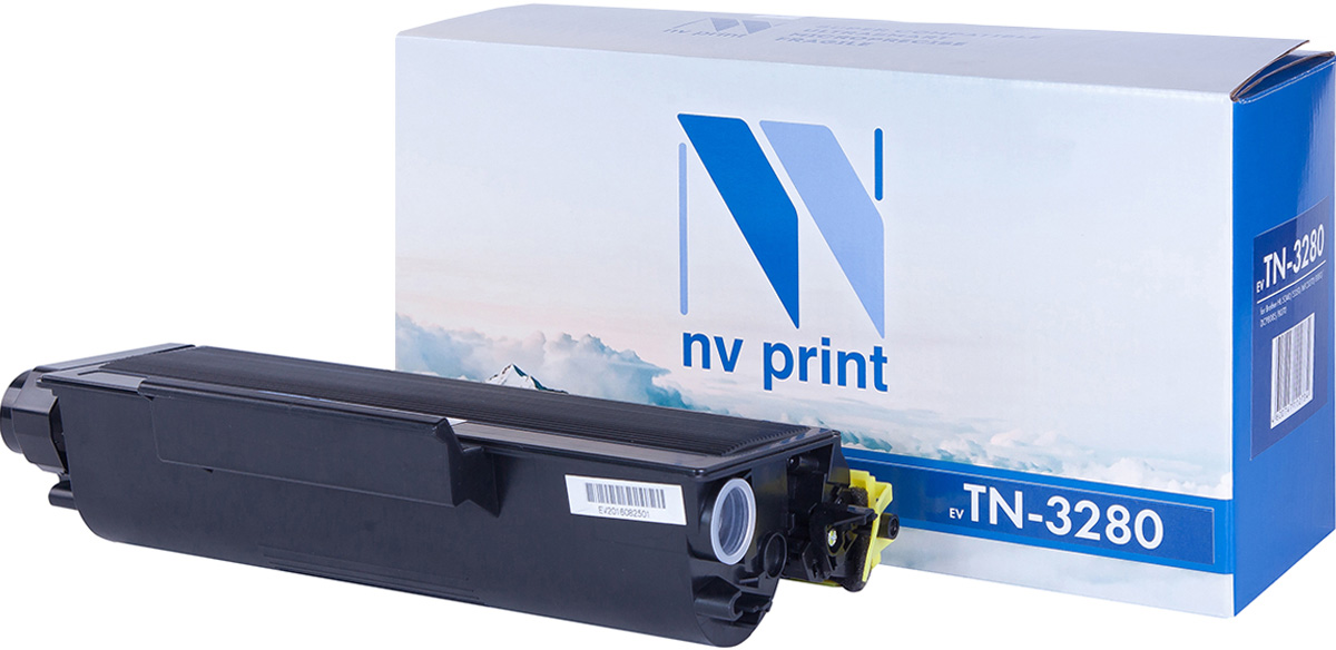 NV Print TN3280, Black тонер-картридж для Brother HL5340D/5350DN/5370DW/5380DN/DCP8085/8070/ MFC8370/8880