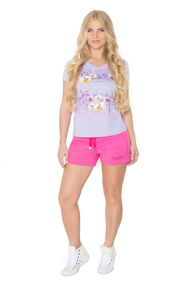 Шорты женские BeGood, цвет: фуксия. SS17-BGUZ-978. Размер 52 шорты женские begood цвет фуксия ss17 bguz 978 размер 48