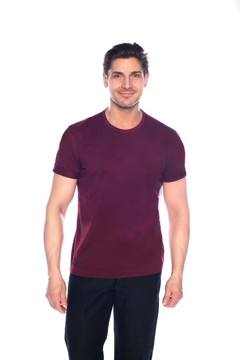 Футболка мужская BeGood, цвет: бордовый. SS17-BGUZ-621. Размер 56 шорты женские begood цвет фуксия ss17 bguz 978 размер 48