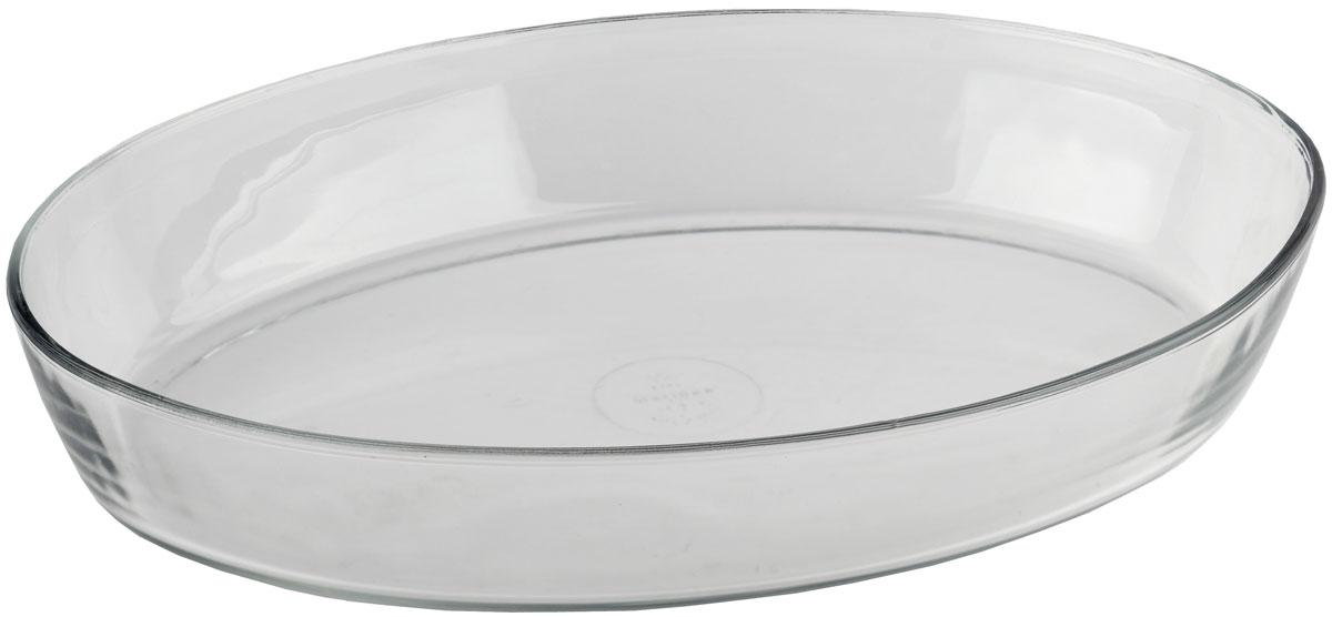 Форма для запекания Marinex, овальная. M163450-1M163450-1Форма для запекания Marinex изготовлена из жаропрочного стекла. Форма предназначена для приготовления горячих блюд. Материал изделия гигиеничен, прост в уходе и обладает высокой степенью прочности. Форма идеально подходит для использования в духовках, микроволновых печах. Можно мыть в посудомоечной машине.