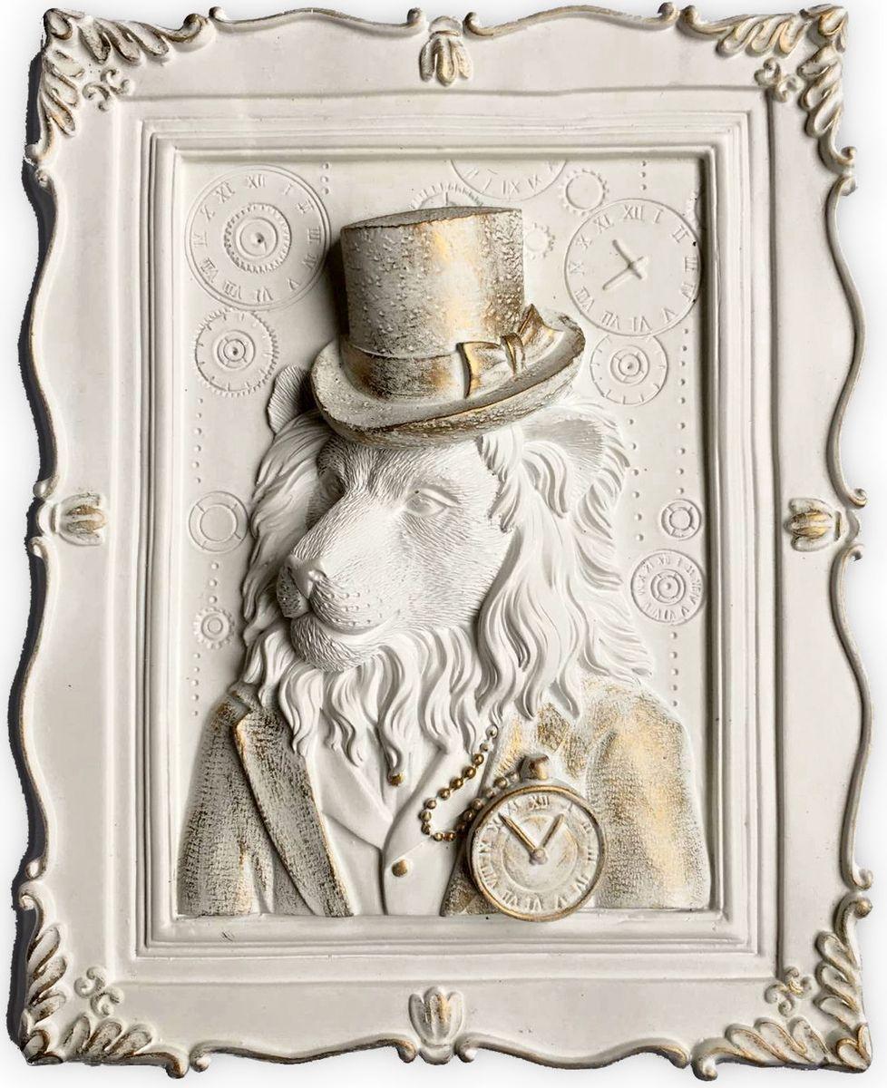 Декоративное украшение Magic Home Лев, 23 х 19 х 5 см44371Декоративное украшение Лев, изготовленное из полирезины, отлично подойдет для декорирования интерьера. Такое украшение не только подчеркнет ваш изысканный вкус, но и станет прекрасным подарком для родных и близких.