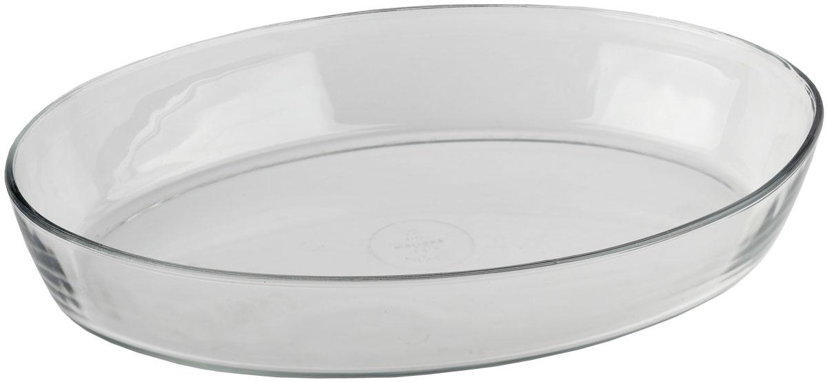 Форма для запекания Marinex, овальная. M166620-1M166620-1Форма для запекания Marinex изготовлена из жаропрочного стекла. Форма предназначена для приготовления горячих блюд. Материал изделия гигиеничен, прост в уходе и обладает высокой степенью прочности. Форма идеально подходит для использования в духовках, микроволновых печах. Можно мыть в посудомоечной машине.