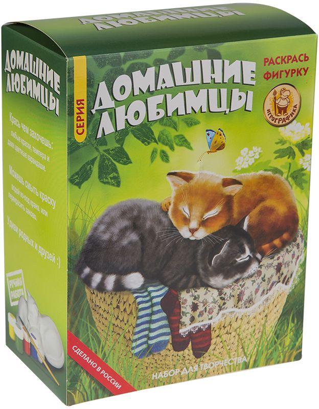 Игрографика Набор для росписи Два кота