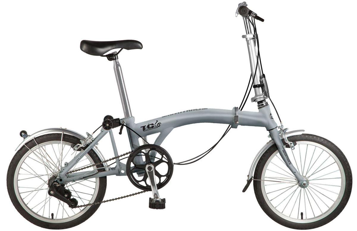 Велосипед детский Novatrack TG-30 Classic, цвет: серый, 2020FTG301.GR7Novatrack TG-30 Classic - это современный, удобный и безопасный складной велосипед, катаясь на котором ребенок не только будет укреплять здоровье и развиваться физически, но и получит море удовольствия. Велосипед благодаря своей универсальности подойдет абсолютно всем . Его отличает надежность, неприхотливость и отличная управляемость – несмотря на то, что велосипед можно отнести к категории городских, он отлично показывает себя на парковых и дачных дорогах. Мягкое и удобное сидение велосипеда позволит с комфортом кататься хоть по несколько часов подряд. Сидение и руль регулируются по высоте и надежно фиксируются.