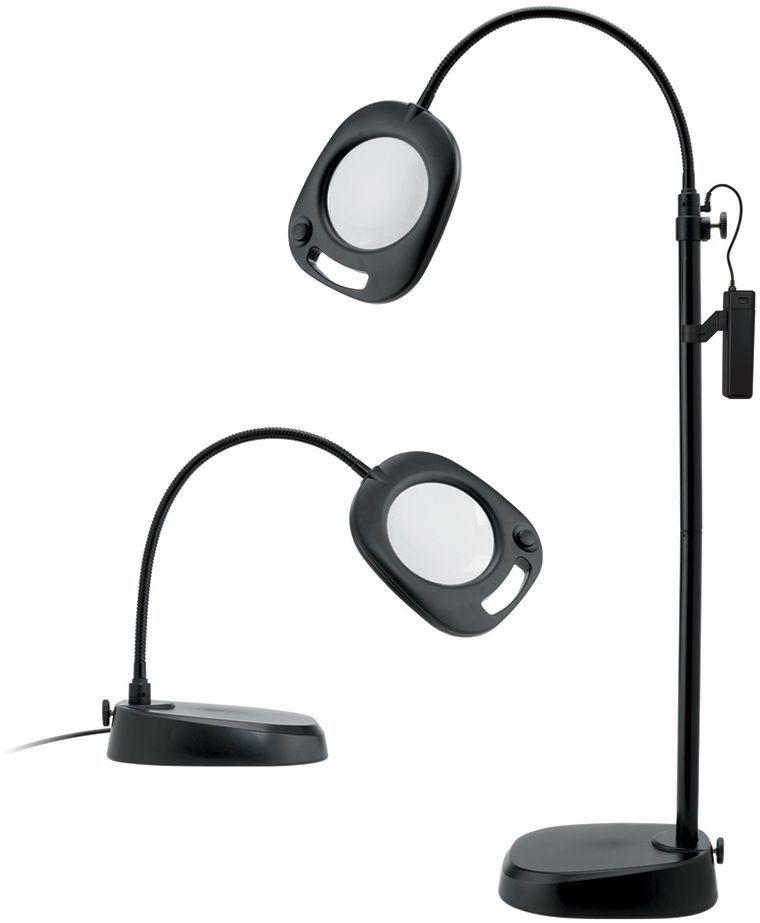 Лампа-лупа Daylight, для рукоделия, напольно-настольная. EN1091 - Массажная техника