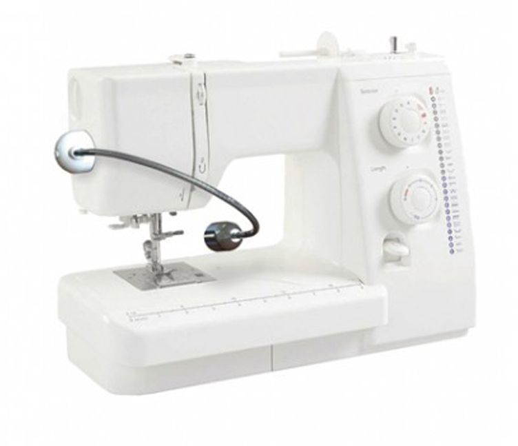 Мини-лампа Daylight, для рукоделия, для швейных машин. EN11802368.61_сиреневый листокЭта маленькая лампа идеально подходит для использования на вашей швейной машинке. Она легко монтируется с одной стороны вашей швейной машинки при помощи самоклеящихся стикеров и имеет съемное крепление. Светодиоды Daylight обеспечивают высокую контрастность и точную цветопередачу, делая работу на швейной машинке менее утомительной и позволяя видеть детали более четко. Светодиоды никогда не нуждаются в замене и потребляют очень мало энергии. Светильник питается от адаптера переменного тока.Техническая спецификация: Источник света: светодиоды Яркость люкс на 15см: 17000 сфокусированный люкс Цветовая температура света: 6000°K Потребление электроэнергии: 1W Цвет: белый Размер: 3,5х2,3x25 см Вес: 201 г Длина кабеля: 2,4 мОсновные характеристики: Ультра-яркий сфокусированный светодиодный светильник Длинный гибкий кронштейн длиной 18 см 2 самоклеющихся крепления подходят для большинства швейных машинок Лампа одним кликом вставляется и вынимается из крепления В комплект поставки входят 2 крепления, что дает возможность пользоваться светильником в нескольких местах Питается от адаптера переменного тока 4 кабельных зажима.