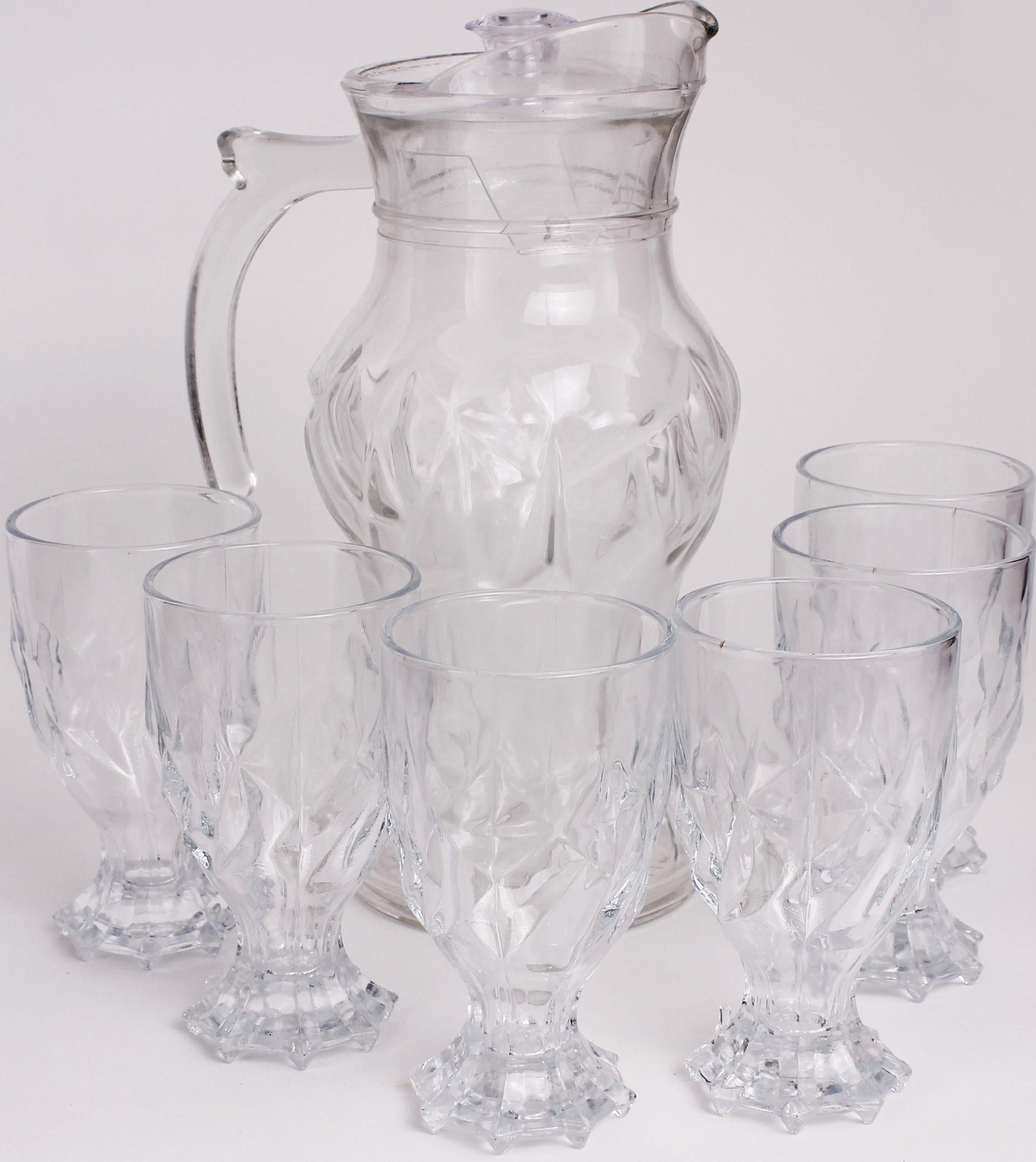 Набор Patricia: кувшин 1,8 л, 6 стаканов, 280 мл. IM99-5721IM99-5721