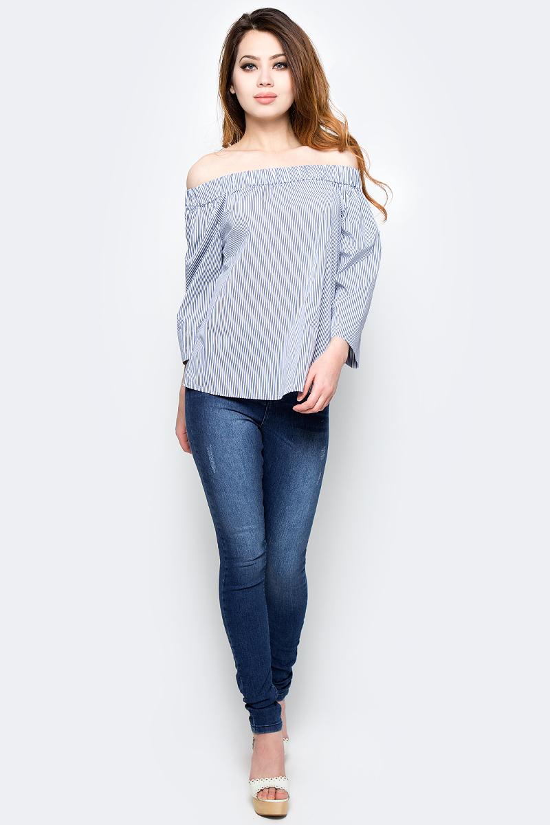 Джинсы женские Tom Tailor, цвет: темно-синий. 6205605.00.75_1095. Размер 28-32 (44-32) джинсы для мальчика tom tailor цвет темно синий 6205478 00 30 1097 размер 146