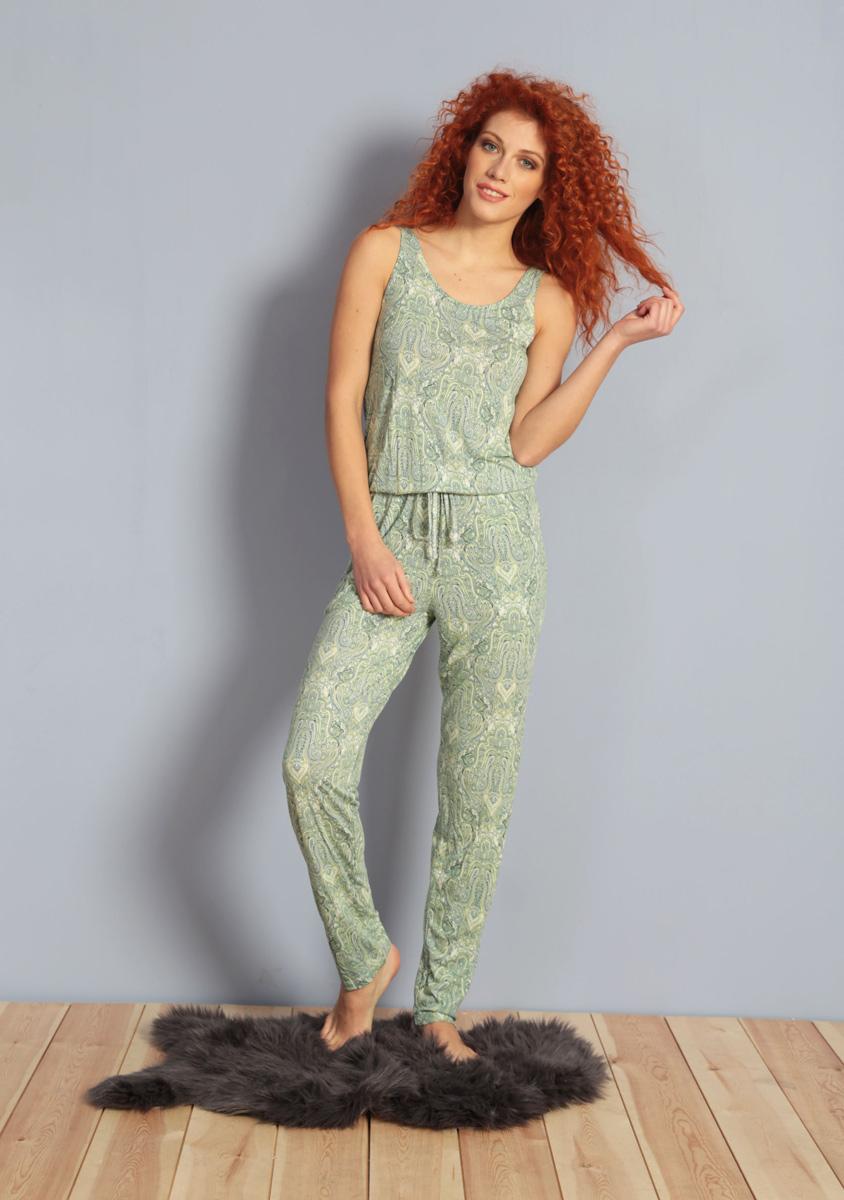 Комбинезон домашний жен Kezokino, цвет: зеленый. 610248 0619. Размер XL (50)610248 0619