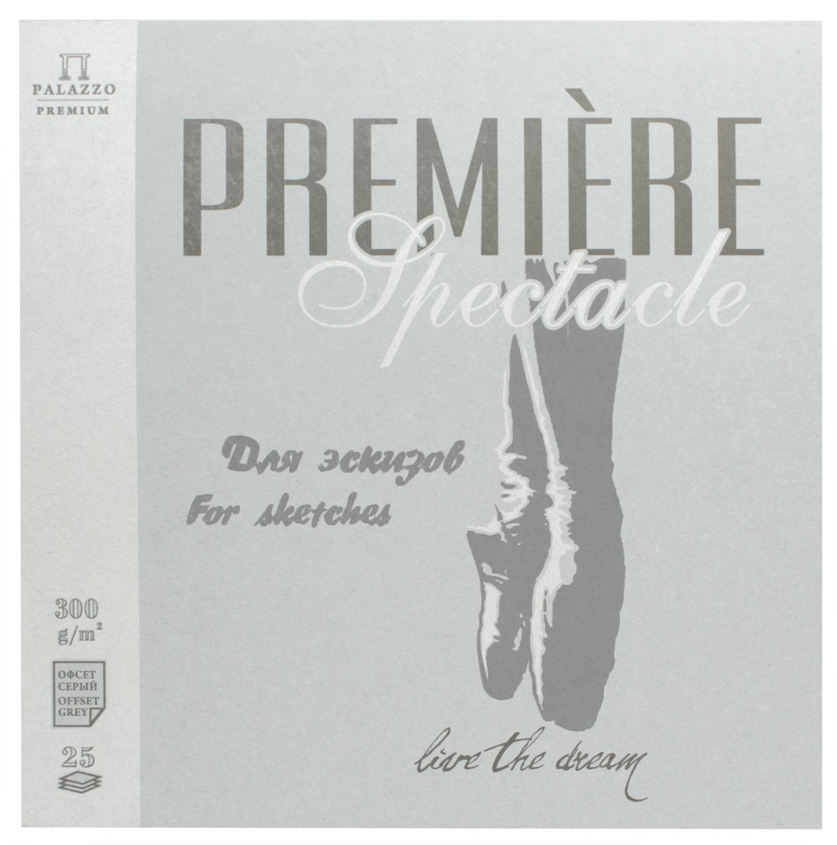 Палаццо Альбом для эскизов Premiere Spectacle 25 листов принадлежности для рисования палаццо блокнот для эскизов котенок а5 50 листов