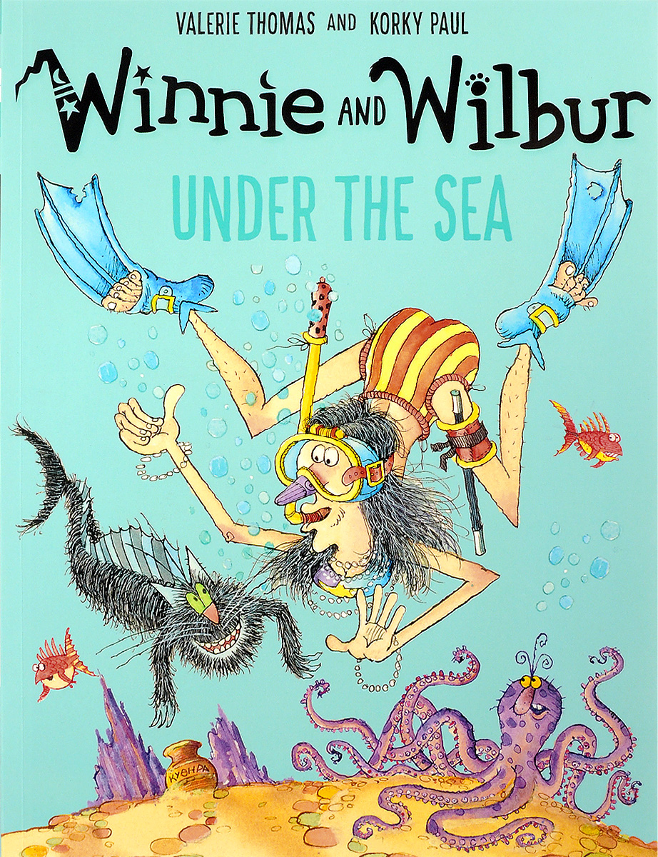 Winnie and Wilbur Under the Sea winnie and wilbur the pirate adventure cd