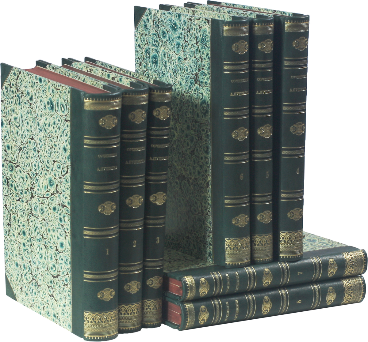 Сочинения Александра Пушкина в 8 томах (комплект из 8 книг) владимир мединский мифы о россии