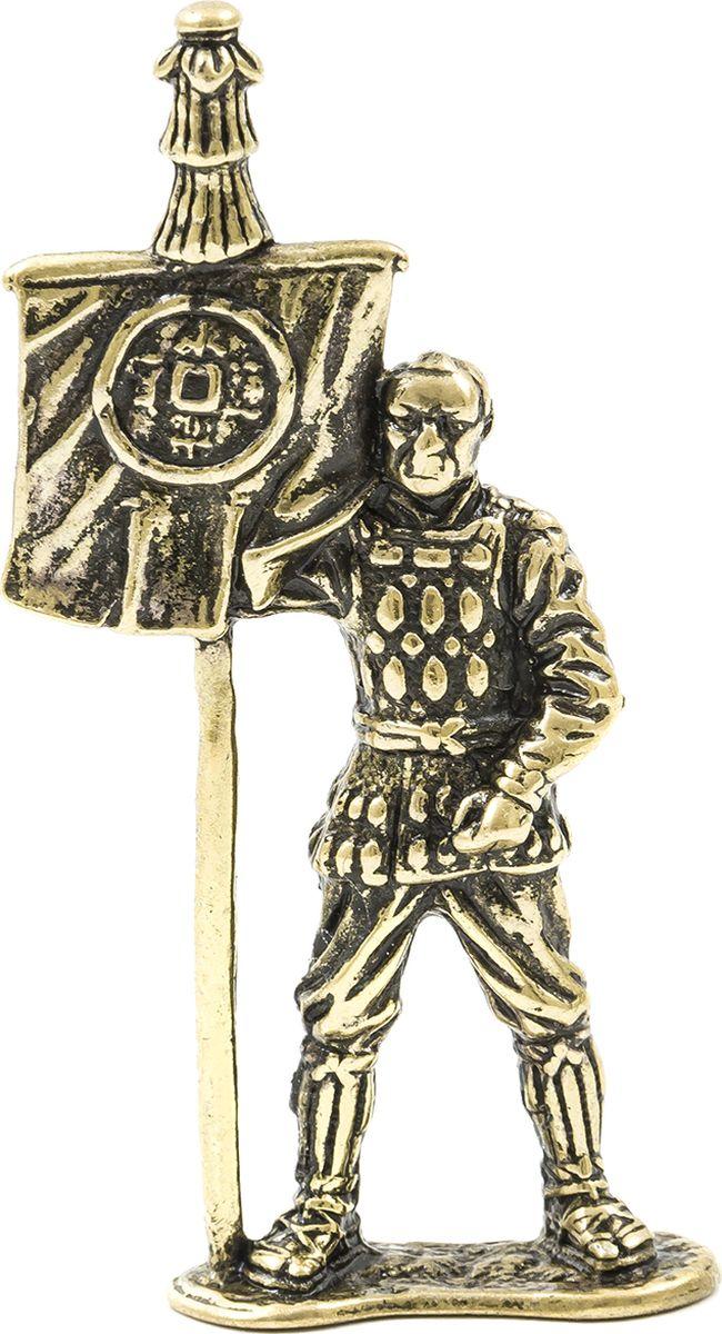 АмберКинг Фигурка Самурай Знаменосец военная миниатюра английский рыцарь знаменосец