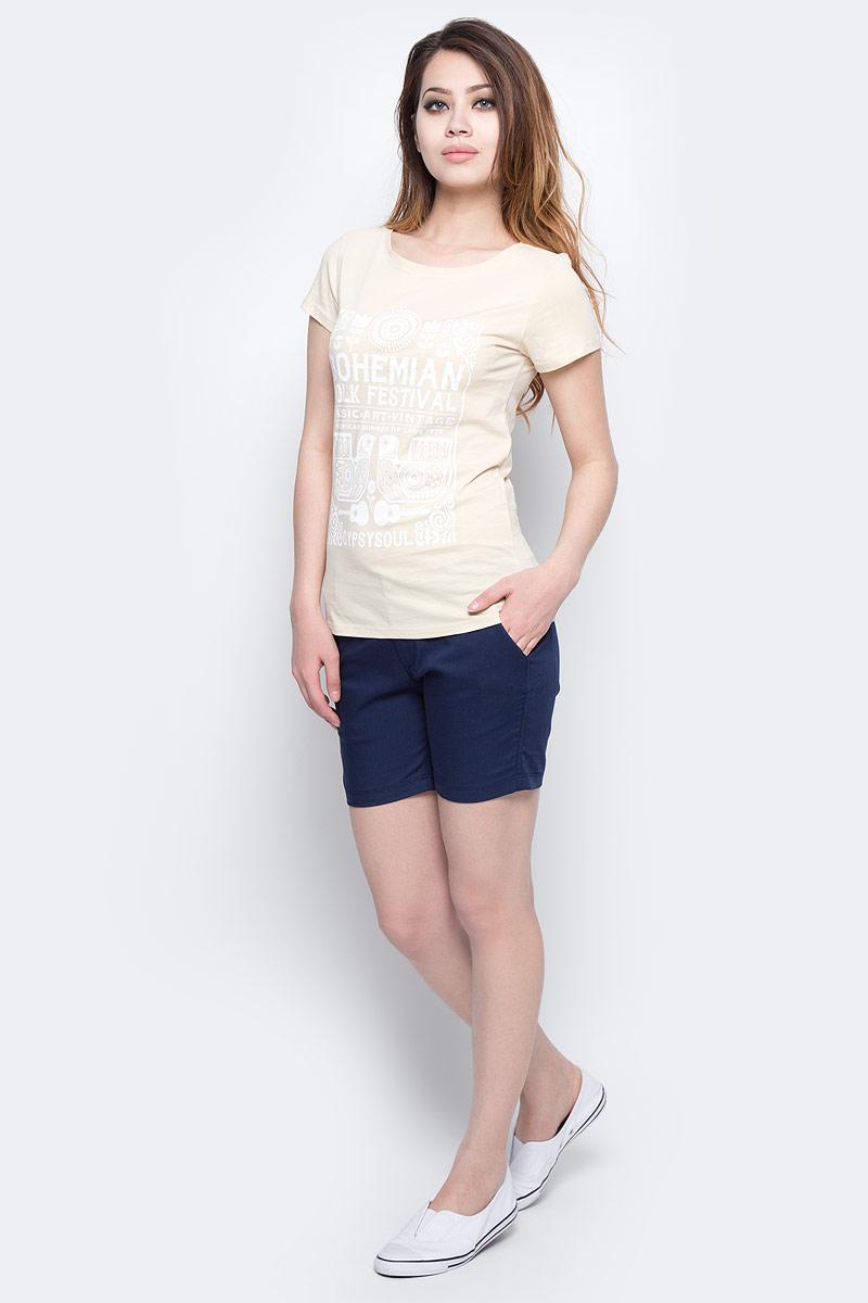 Футболка женская ONeill Lw Boho Festival T-Shirt, цвет: кремовый. 7A7330-1082. Размер XS (42/44)7A7330-1082Футболка женская ONeill выполнена из 100% хлопка. Модель имеет стандартный крой, короткий рукав и круглый вырез горловины. Футболка дополнена надписями в стиле бохо.