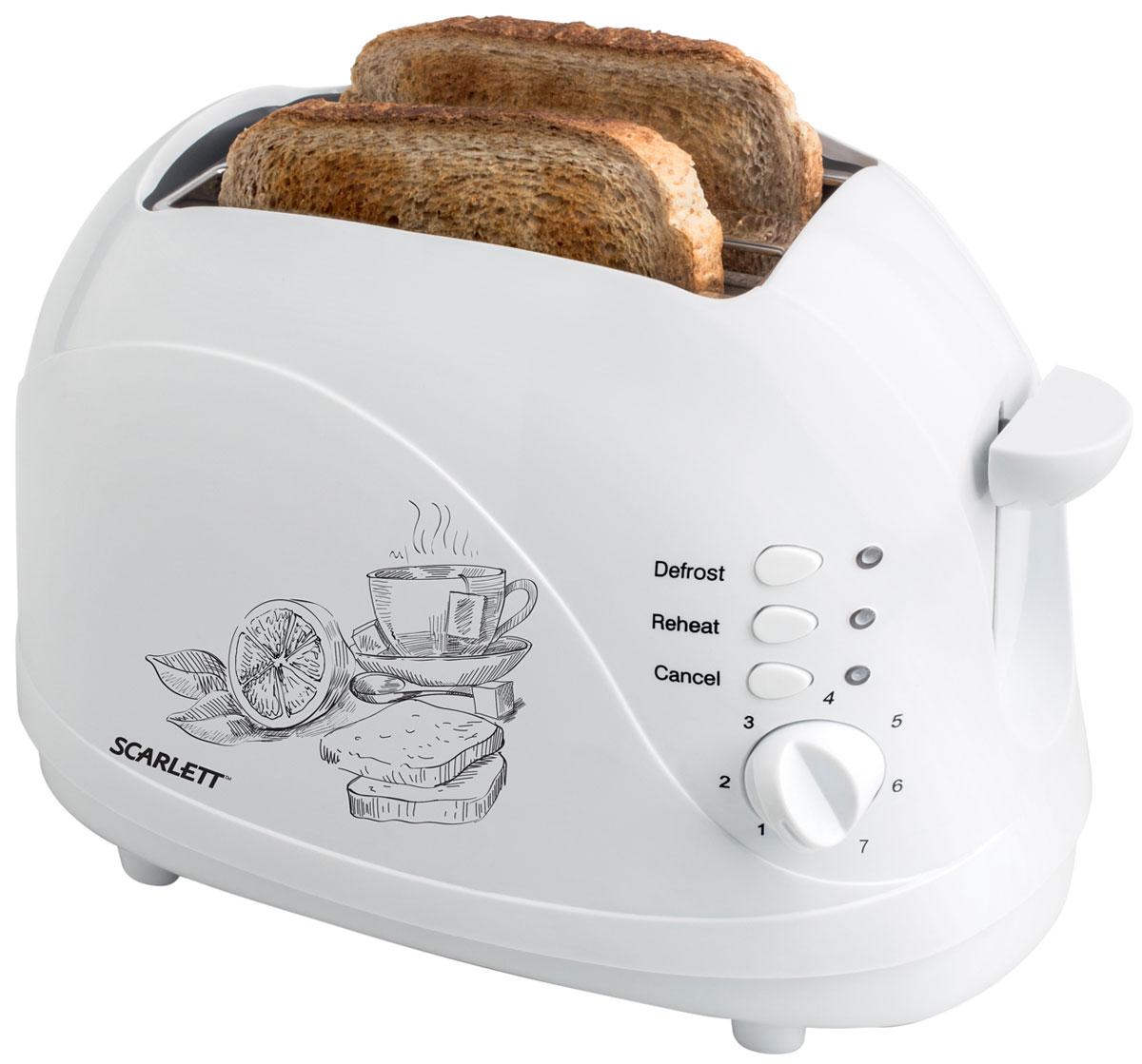 Scarlett SC-TM11007, White тостер - Тостеры