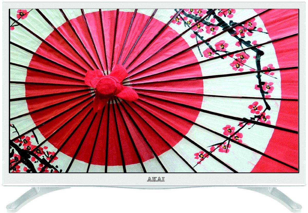Akai LEA-28U62W телевизорLEA-28U62WТелевизор Akai LEA-28U62W соответствует всем современным технологиям и оборудован LED подсветкой, уменьшающей его толщину. Корпус из высококачественного пластика с экраном диагональю 28 дюймов впишется в любой интерьер. Источником сигнала для качественной реалистичной картинки служат не только цифровые эфирные и кабельные каналы, но и любые записи с внешних носителей, благодаря универсальному встроенному USB медиаплееру. Телевизор можно расположить как на столе, так и на настенном кронштейне, который приобретается отдельно. Akai LEA-28U62W обеспечит изображение высокого качества в формате HD (1366x768). Как выбрать телевизор – статья на OZON Гид.