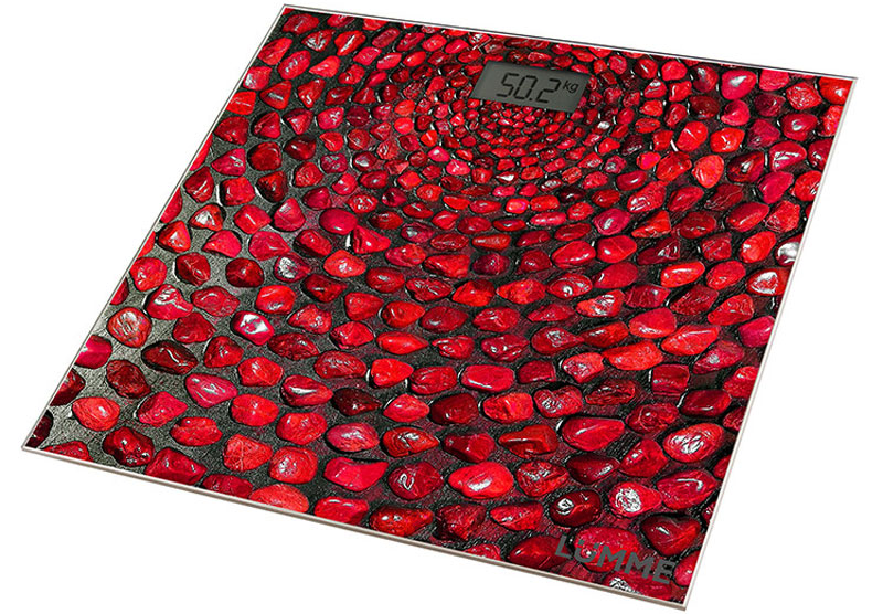Lumme LU-1329 Красный коралл напольные весы lumme lu 1319 silver весы кухонные
