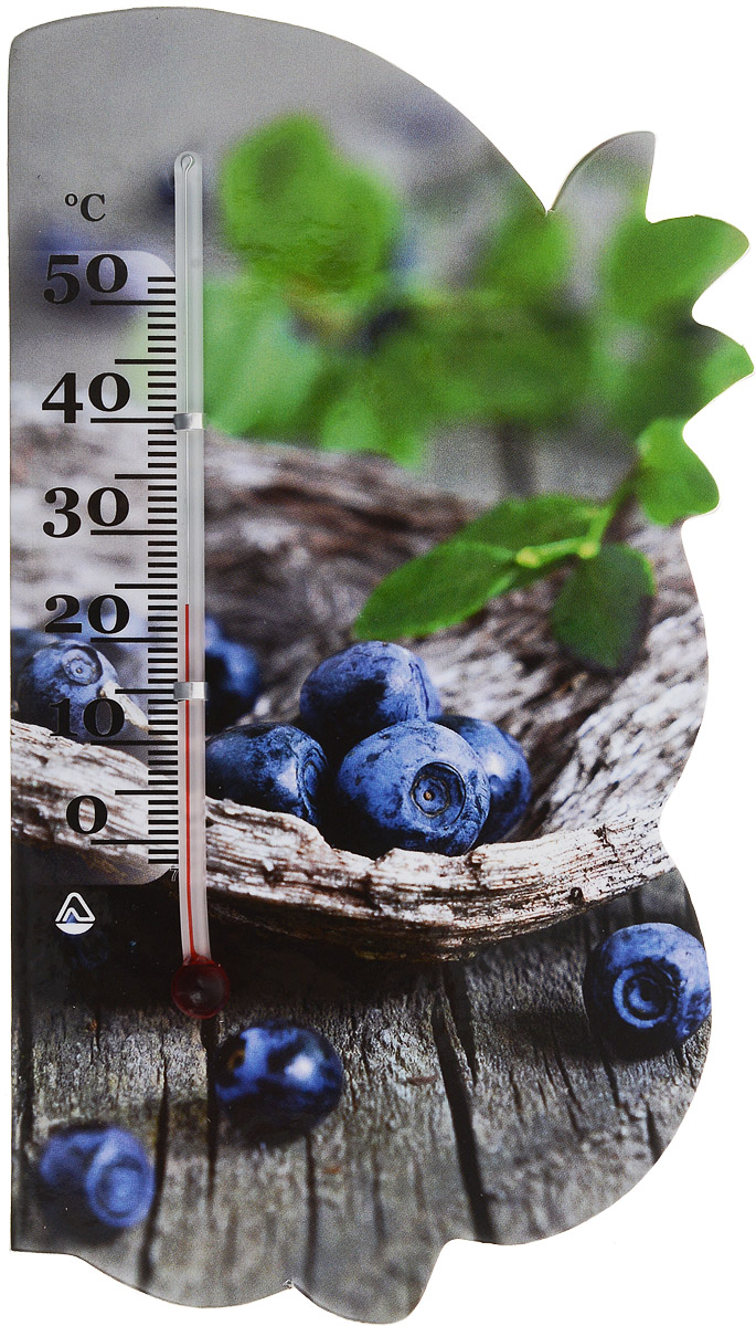 Термометр комнатный Стеклоприбор Сувенир. Фрукты, на магните. 300074_черника300074_черникаЖидкостный термометр Стеклоприбор Сувенир. Фрукты выполнен в декоративном корпусе из картона. С помощью магнитного крепления такой термометр можно повесить на холодильник.Термометр имеет шкалы измерения температуры по Цельсию (от -2°С до +52°С). Благодаря такому термометру вы всегда будете точно знать, насколько тепло в помещении.Жидкостный термометр Стеклоприбор Сувенир. Фрукты отлично впишется в интерьер вашей кухни, а также станет отличным сувенирным подарком для ваших родных и близких.Размеры термометра: 14,5 х 8 см.