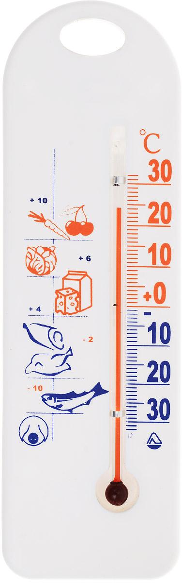 Термометр для холодильника Стеклоприбор. ТБ-3М1 исп.9103235Термометр для холодильника Стеклоприбор предназначен для измерения и контроля температуры в холодильнике. Корпус термометра выполнен из пластика. Модель имеет наглядную шкалу с ценой деления в 1°С и широкий диапазон температур - от -30 до +30°С. Не содержит ртути. Термометр крепится боковым или горизонтальным кронштейном.Безопасное и правильное хранение продуктов питания - залог здоровья.
